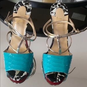 Authentic Christian Louboutin Lovabrida heels